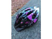 Girls Giro Flurry bike helmet, 50-57 cm