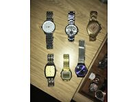 Various men's watches
