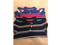 Tommy Hilfiger girls polo shirt age 4