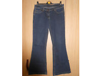 Dorothy Perkins Dark Blue jeans size 12/40R