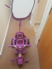 Purple trike. Used 3 times