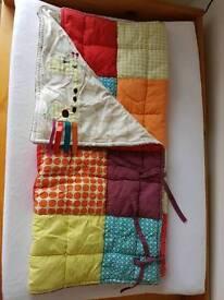 Baby Sleeping bag / play mat mamas and Papas jamboree