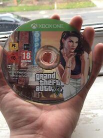 Grand theft auto 5 Xbox One