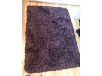 Dark Purple Rug.