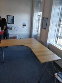 IKEA Galant Corner Desks