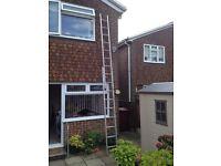 9 Rung 2 Section Ladder