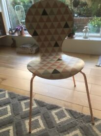 2 x dining / hall/ bedroom bentwood chairs