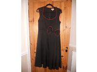 Black Lindy Bop dress, size 14