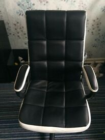 Office faux leather chair