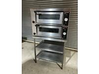 Lincat Electric Double deck pizza oven