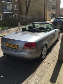Audi A4 2.0t cabriolet