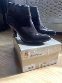 Hush Puppies Ankle Boots size 8 (as new)