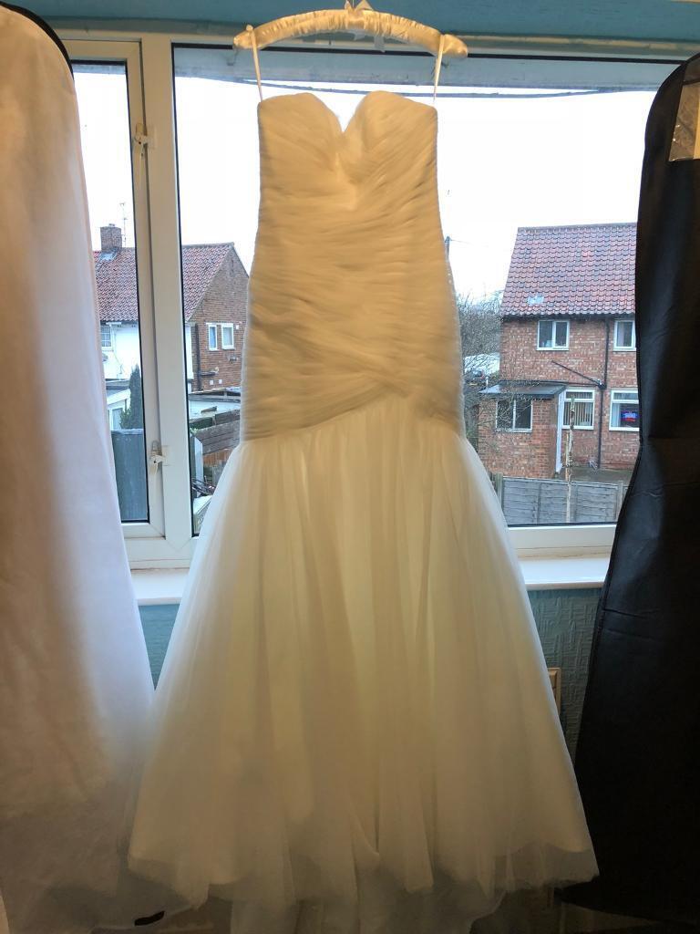 New Mori Lee Wedding Dress Size 12 | in Hull, East Yorkshire | Gumtree
