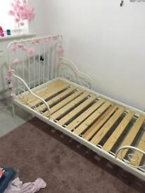 Ikea extendable kids bed x2