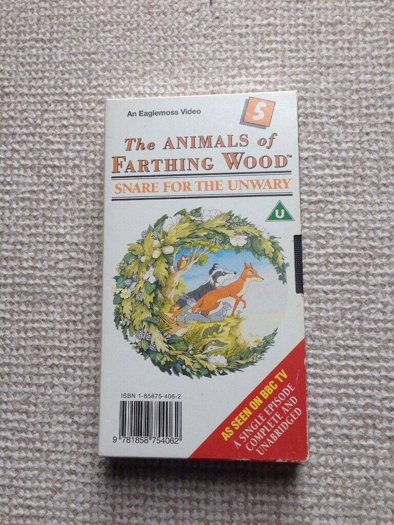 Animals of Farthing Wood - Snare for the Unwary (No. 5) VHS