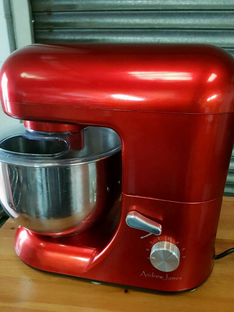 Andrew james red food mixer very good conditionin Southampton, HampshireGumtree - Andrew james red food mixer 5.2L with stainless steel bowl and attachments very good condition