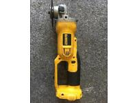 Dewalt angle grinder 18v good condition