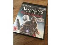 3 x PS3 Assassin's Creed video games