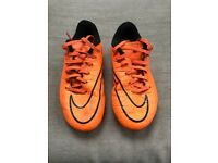 Nike Hypervenom Football boots size UK1 EUR33