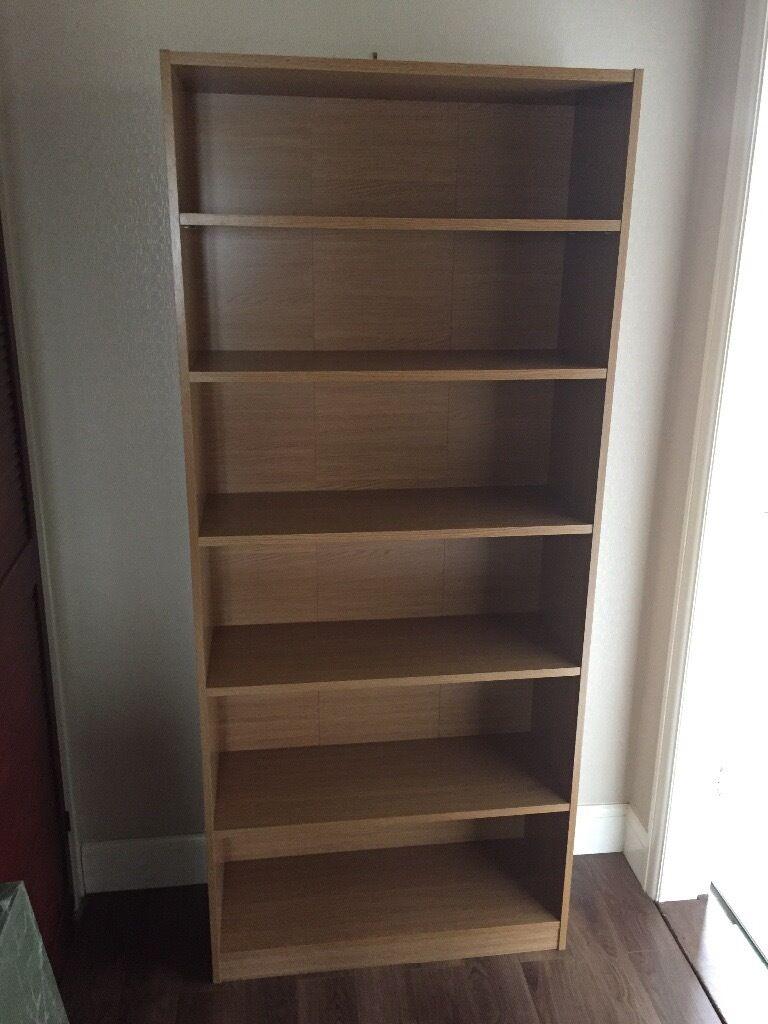 Oak Effect Bookcase From Homebase