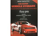 Car/Vehicle storage and Transportation - Indoor and Yard - New Facility