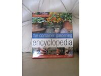 THE CONTAINER GARDENING ENCYCLOPEDIA. £5