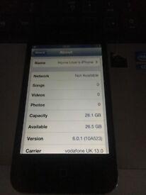 apple iphone 4s black 02 o2 giff gaff tesco i can unlock 32 gig gb old ios 6.0.1