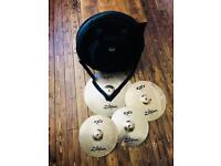 ZILDJIAN ZXT Cymbal Pack W/ Westfield Carry Case