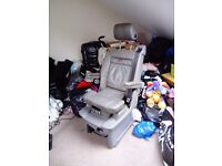 Vw carvelle multivan highline swivel baby seat