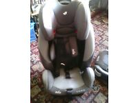 used baby car seat and booster like new