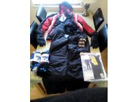 mens skiing clothes brand new