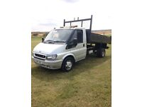 Transit tipper 135 bhp in mint condition