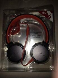 Sony headphones MDR-X660AP