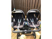 2 x MAXI COSI CAR SEATS FROM BIRTH