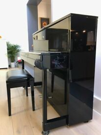 Modern Design German-made Upright Piano by SAUTER in really good condition