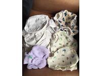 Cloth reusable nappy bundle - great wraps! Bargain