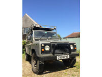 1989 Landrover 110 200tdi with MOT until December 2018, lots of new parts, mileage of engine 140000