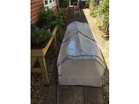 VegTrug Medium greenhouse frame and cover brand new for 1.8m Veg Trug easy assemble box all fittings