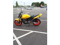 honda cb 600f hornet may swap for cbr 600