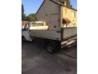 For transit tipper pick up n reg
