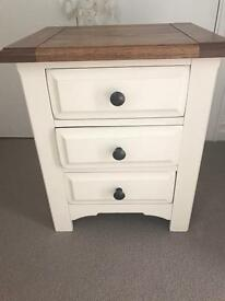 Wooden Tuscan Bedside Table