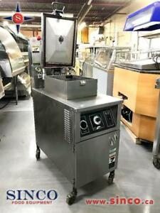 PRESSURE COOKER FRYERS HENNY PENNY, BK INDUSTRIES, BROASTER 1800