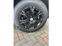 "18"" Inch Alloys with Pirelli Tyres"