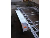 Twin Wheel Car Trailer