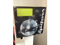Kids disco ball unused