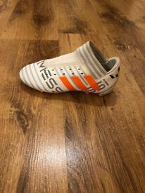 Adidas Nemeziz Messi 17+ 360 Agility FG Football Boots White