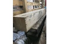 Reclaimed Pitched Pine beam - Mantle or Lintel - 2500 long x 300mm thick