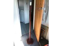 Standard Lamp in Mahogony