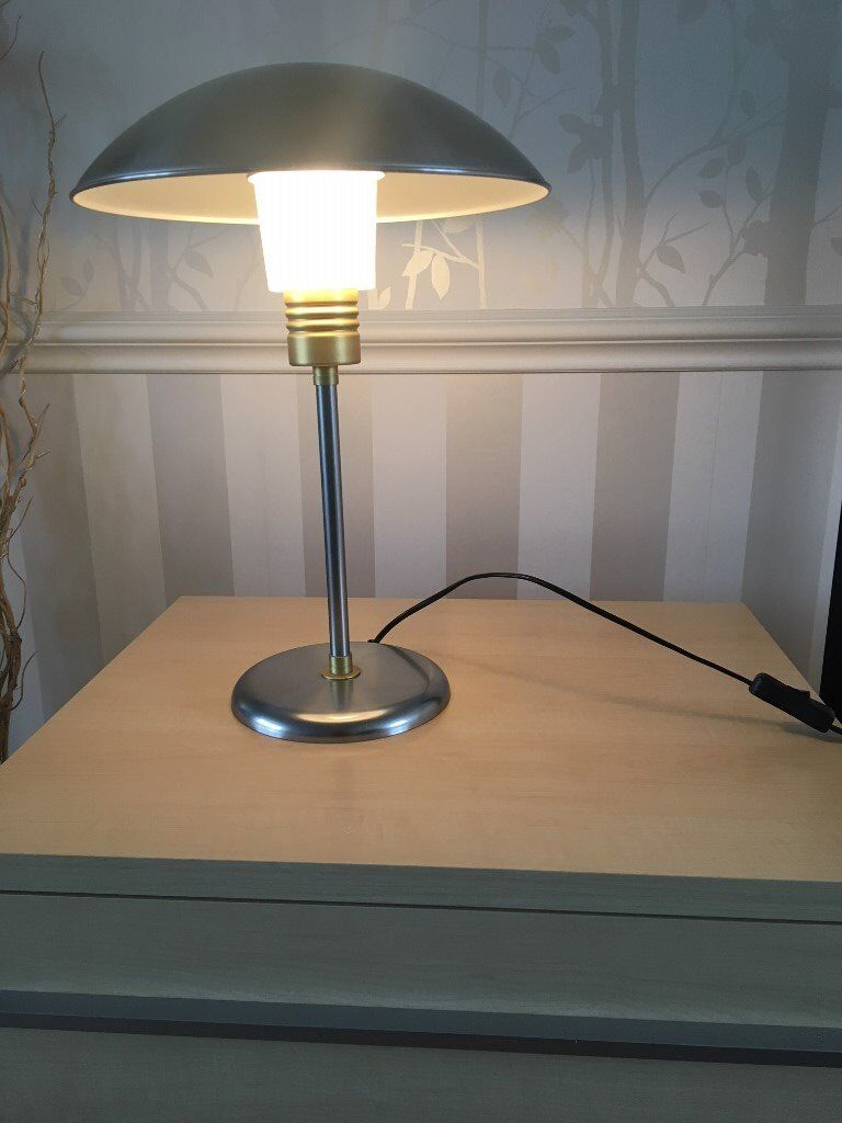 Ikea Desk Table Lamp In A Retro Style Silver Copper Colour In St Albans Hertfordshire Gumtree