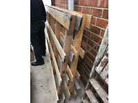 Pallets x2 firewood
